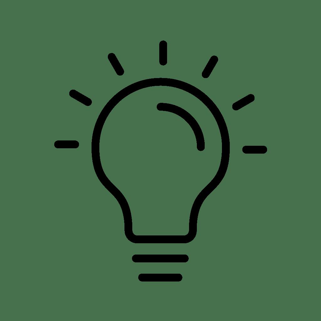 —Pngtree—bulb line black icon_3746360